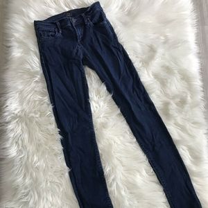 Citizens of Humanity Slick Skinny Jeans Dark 24